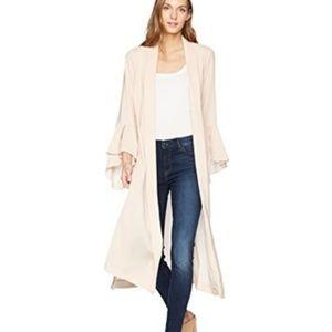 BCBGMaxAzria Neude Pink Dina Robe Jacket Kimono